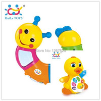 Bebe Rattles Twist Colored Worm Brinquedo Para Electric EQ Yellow Duck Baby Toys Free Shipping Huile