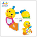 Bebe Rattles Twist-colored Worm Brinquedo para Electric EQ Yellow Duck Baby Toys Free Shipping Huile Toys 786B & 808