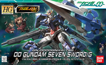 Gundam Model HG 1/144 EXIA 00 DOUBLE O Seven Sword/G GUNDAM READY PLEAYER ONE THUNDERBOLT Armor Unchained Mobile Suit Kids Toys brand new bandai rg 15 00 1 144 gundam exia assemble action figure diy toys kids dolls gift with retail box