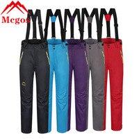 2016 Hiver Imperméables Ski Costume Des Femmes De Neige Ski Esqui Chaud Snowboard Pantalon Pantalon Salopette Pour Les Femmes