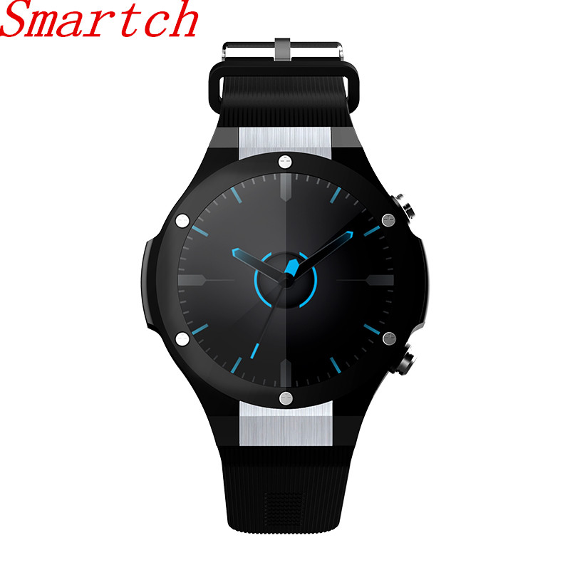Smartch H2 GPS Smart Watch IOS With App Download Heart Rate Tracker WIFI SIM 5.0M HD Camera Android 5.1 Smartwatch Pk Kw88 dm2018 smart watch android gps sports 4g smartwatch phone 1 54 inch bluetooth heart rate tracker monitor pedometer pk kw88 dm98