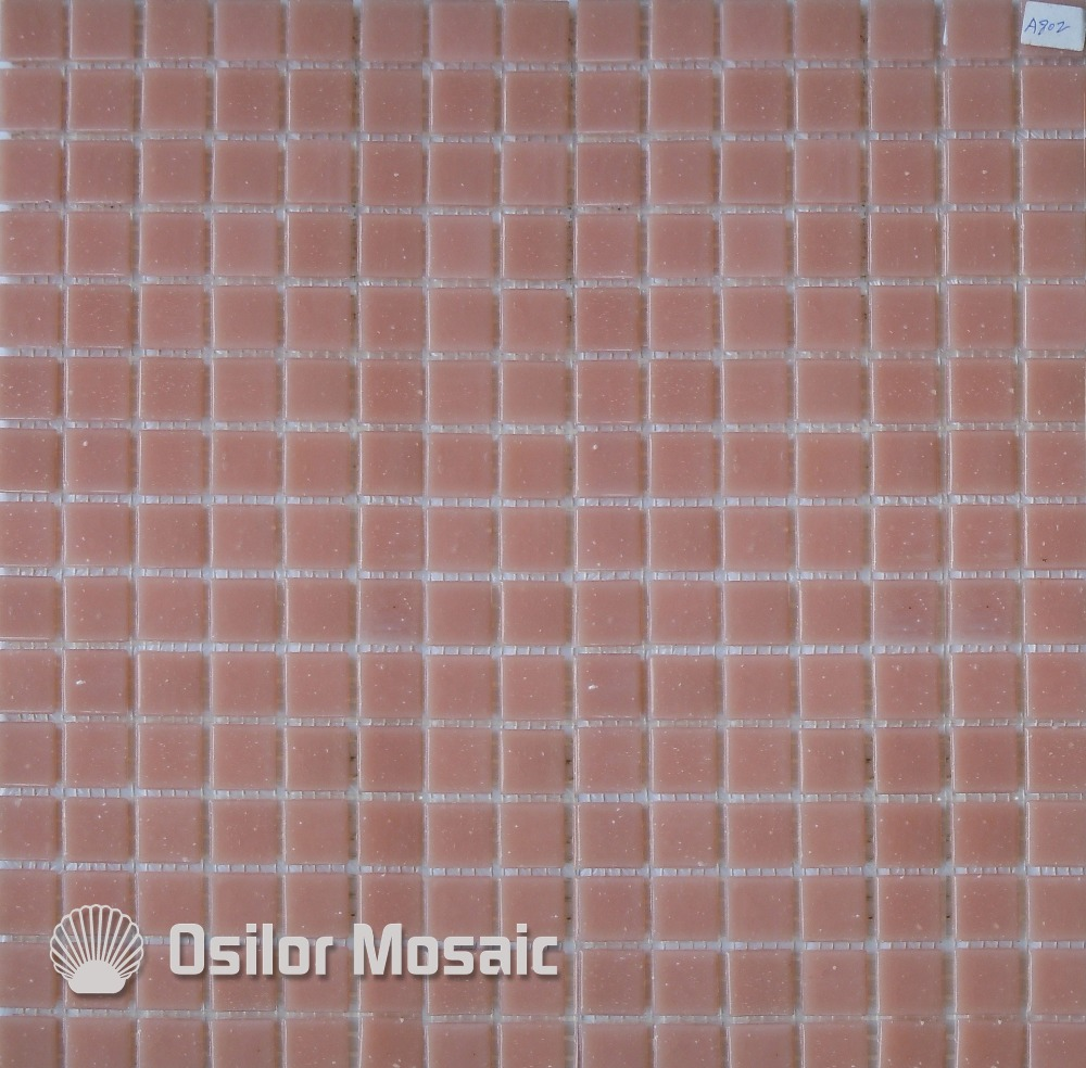 Buy Free Shipping Pink Glass Mosaic Tile Outdoor Wall Tile Floor Tile From