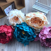 Big one unids peony bouquet emperor palace pink pollen silk wedding flower decoration