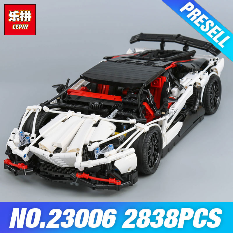 Lepin 23006 Genuine MOC Technic Series The Super Racing Car Set MOC-3918 Building Blocks Bricks Educational Toys Boy Gifts Model new lepin 21009 632pcs genuine creative series the out of print 1 17 racing car set building blocks bricks toys