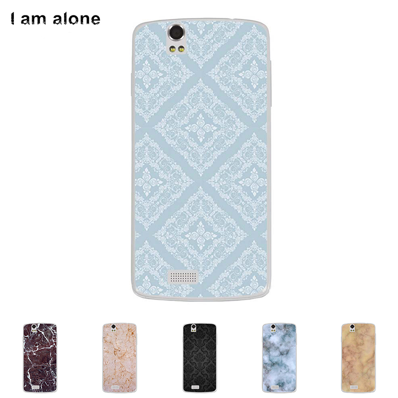 Soft TPU Silicone Case For Fly IQ4503 Era Life 6 5.0 inch Cellphone High Quality Mask Color Paint DIY Skin Cover Stone Pattern