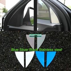 Interior do carro coluna dianteira alto som chifre decoração capa guarnição 2019 2020 acessórios terceiro ge 2018 para chevrolet holden equinox