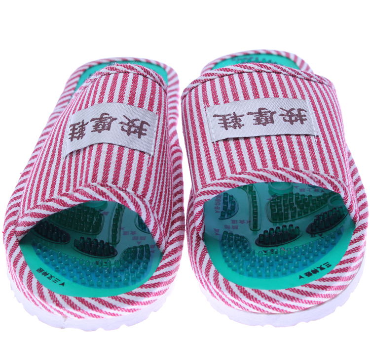 50Pairs God acupoint magnetic therapy massage shoes care Massage slippers electronic magnetic slippers shoes for hai hua cd 9