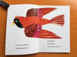 Image 5 - 4 Uds. Libro en inglés para niños mi primer lector Mini biblioteca: oso marrón, oso marrón, ¿qué ves? Educación popular libro