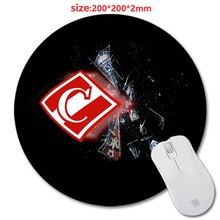Size 200 * 200 * 2 mm Logo Flag 3D printing Round Rubber Soft Gaming Mouse pad lasting computers and laptops mouse pad