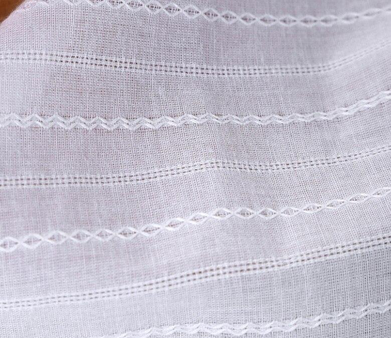 ∞Alta calidad camisa falda Telas 100% algodón de gasa Telas ...