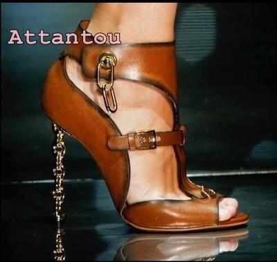 Romain Européenne À De Talons Robe Style Sexy Femme Sandales Peep Avec Hauts Mariage Nouveau Métal Discothèque Haute Orange Toe Chaussures rSxSEqwAO