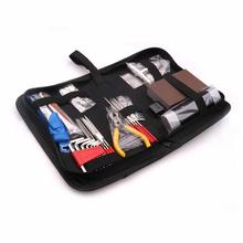 Orphee Guitar Full Big Set Tools Bag Package Professional Maintenance Guitarra Repair Kit Care Tool Set Guitar Accessories