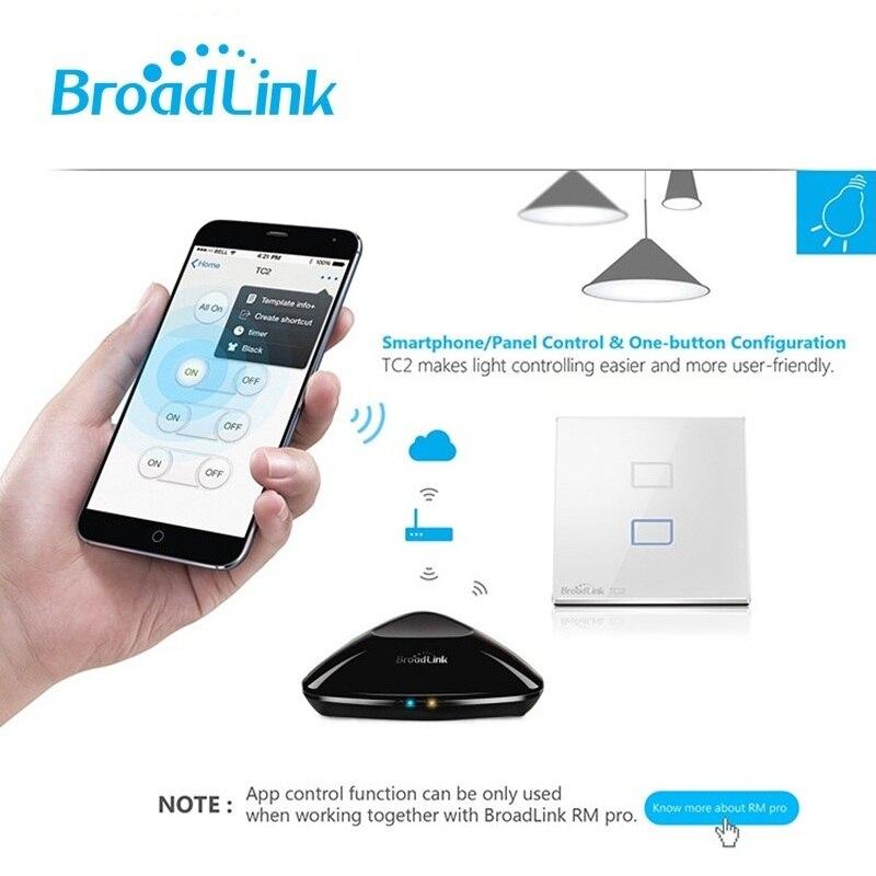 Image 5 - Broadlink TC2 EU Standard 1 2 3 gang Optional,mobile Remote light  lamp wall Switch via broadlink rmpro,Crystal Glass,domoticatc2  eubroadlink tc2 3 gangtc2 3 gang