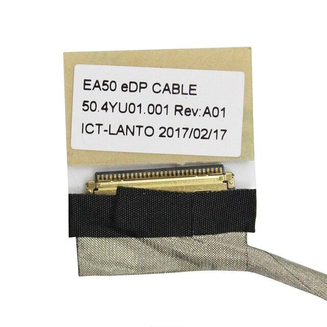 Écran vidéo Flex pour Acer E1-522 E1-522 E1-522G MS2384 NE522 ordinateur portable LCD LED LVDS écran ruban câble 50.4YU01.001 50.M81N1.004