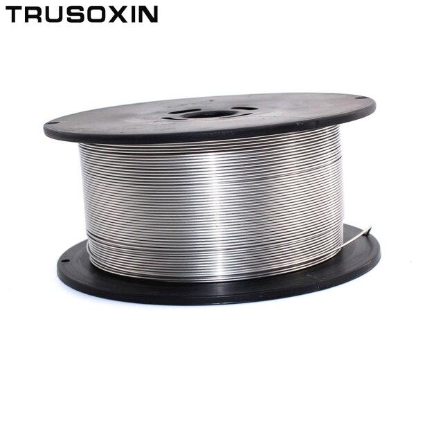Аксессуары для сварочных аппаратов MIG MAG, 1 кг, 0,8 мм/1,0 мм/1,2 мм, нержавеющая сталь, сварочная проволока MIG/стандартная