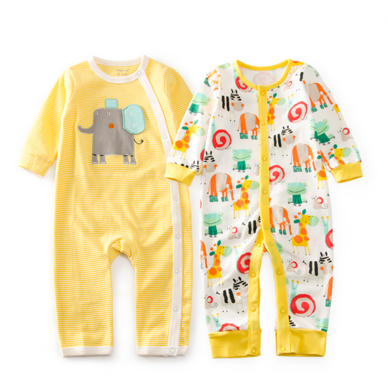 Baby Gift Giraffe Zoo Cotton Rompers Newborn Baby Boy Girl Romper Clothes Jumpsuit Baby Roupa Infantil Menino Kid Set spring baby romper baby boy clothing set cotton girl clothes summer 2017 animal newborn rompers baby clothing infantil jumpsuit