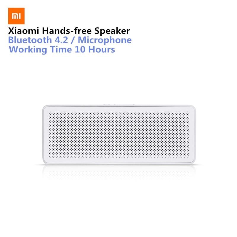 Original Xiao mi mi Bluetooth Lautsprecher Grundlegende 2 Platz Box 2 Stereo Tragbare Bluetooth 4,2 HD High Definition Sound Qualität spielen
