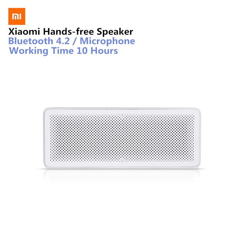 все цены на Original Xiaomi Mi Bluetooth Speaker Basic 2 Square Box 2 Stereo Portable Bluetooth 4.2 HD High Definition Sound Quality Play