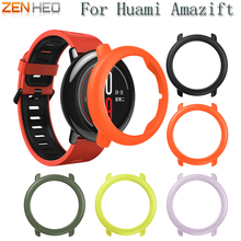 Slim Frame Colorful PC Case Cover Protect Shell For Xiaomi HUAMI AMAZFIT Smart Watch Accessories