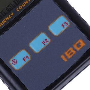 Image 5 - IBQ102 Palmare Contatore di Frequenza Digitale Metro di Larghezza Gamma 10Hz 2.6 GHz per Baofeng Yaesu Kenwood Radio Frequency Portable Meter