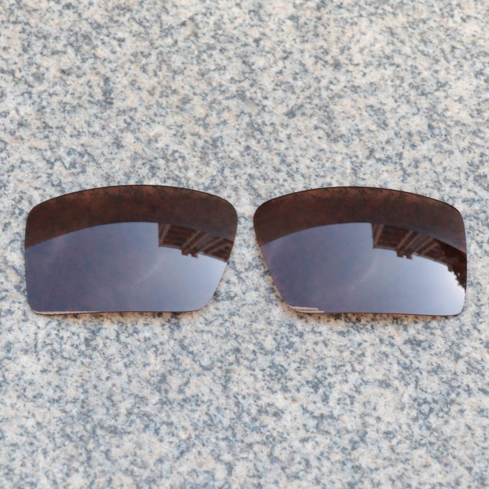 E.O.S Polarized Enhanced Replacement Lenses for Oakley Eyepatch 2 Sunglasses - Earth Brown Polarized
