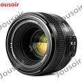 Светодиодная лампа для видеосъемки Yongnuo YN50mm F1.8 объектив AF большего с автофокусом для N DSLR Камера Новый D7200 D5300 D5200 D750 D500 D4s CD50
