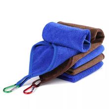 Pluszowy ręcznik do suszenia włókno poliestrowe łatwe do czyszczenia gruby ręcznik ręcznik kąpielowy ręcznik z mikrofibry gruby nieprzywierający ręcznik papierowy tanie tanio CN (pochodzenie) Bardzo chłonne Other Tkanina z mikrofibry