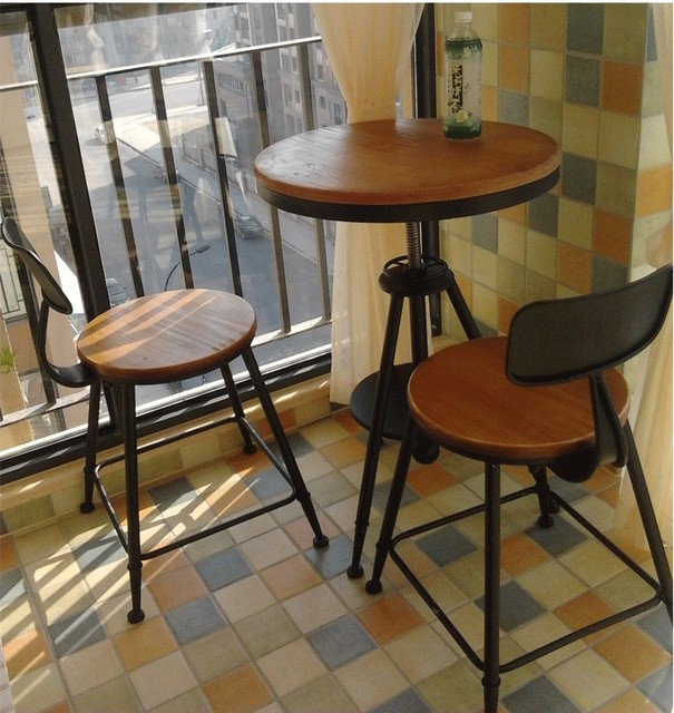 Outdoor Tea Shop Cafe Tables And Chairs To Discuss Small Bar Restaurant  Terrace Dining Table Combination
