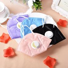30pc Men Women PM2.5 mouth mask Breath valve Anti Haze disposable Mask anti dust Mouth-muffle respirator Flu Face masks for face zlrowr shark mouth anti fog flu face masks unisex surgical respirator mouth muffle mask