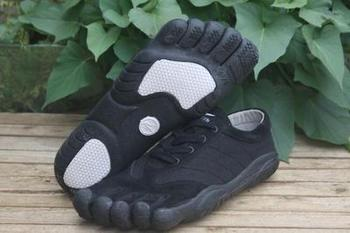 5 Cuero Cinco Zapatillas Genuino Gimnasio Escalada Hombres Trekking Caminar Ligero Dedos Zapatos Antideslizante SqzpGUMV