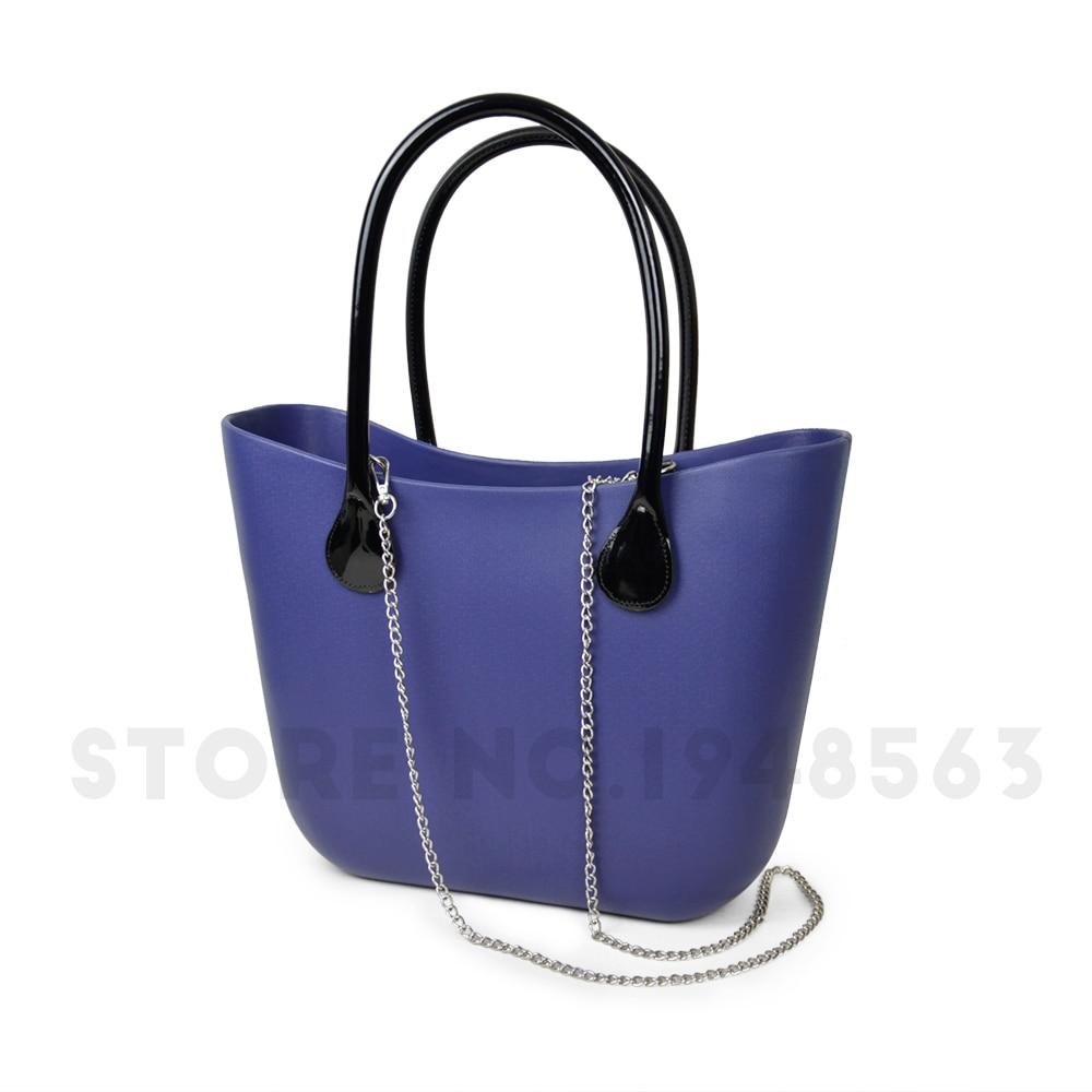 tanqu 1 Pair 2 PC PU Drop Shaped for Obag Leather Attachment with Holes Shoulder Strap for O bag Handbag Women Bag