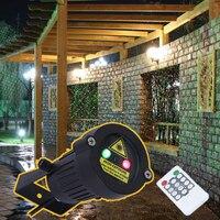 IP65 Outdoor Garden Light Decor Premium Waterproof Christmas Laser Spotlight Light Star Projector Showers With Remote
