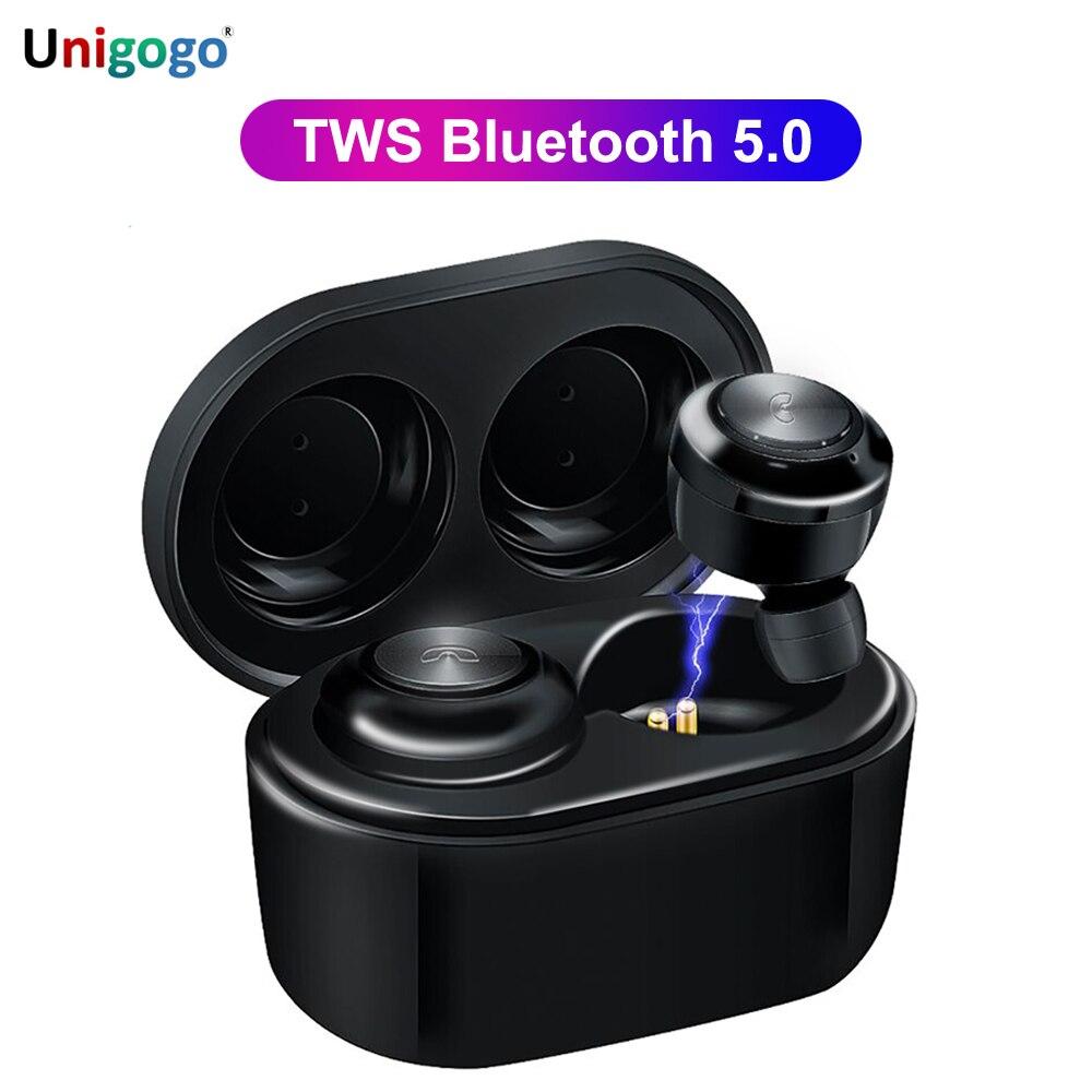 TWS auricular Bluetooth en el oído 3D estéreo Bluetooth inalámbrico 5,0 auriculares con caja de carga de micrófono auriculares deportivos para todos los teléfonos inteligentes Máquina de niebla LED-600, control inalámbrico, luz de escenario de Fiesta de DJ de 500W, selección de color RGB, discoteca, Fiesta en casa, máquina de humo