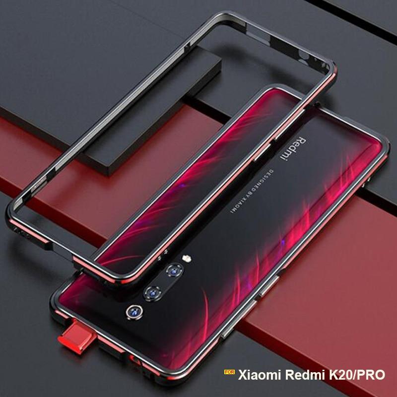 Xiaomi Redmi K20 Pro case Metal Frame Luxury Original Glossy Aluminum bumper protector cover for Xiaomi Redmi K20 case fundasXiaomi Redmi K20 Pro case Metal Frame Luxury Original Glossy Aluminum bumper protector cover for Xiaomi Redmi K20 case fundas