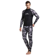 Perimedes Spearfishing Menyelam Wetsuit 3 Mm Kamuflase Neoprene Pria Pesca Snorkeling One-Piece Full Body Baju Renang Setelan # G45(China)