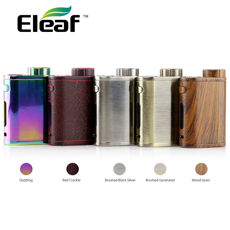 Originale 75W Eleaf iStick Pico Box Mod Support VW / Modalità Bypass / TC / TCR No 18650 Sigaretta elettronica batteria vs Ikonn 220 Mod