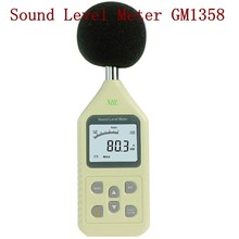 30-130dB LCD Sound Level Meter Digital Noise dB Frequency Tester in Decibels Accuracy:1.5dB AC/DC Output FAST/SLOW Analyzer