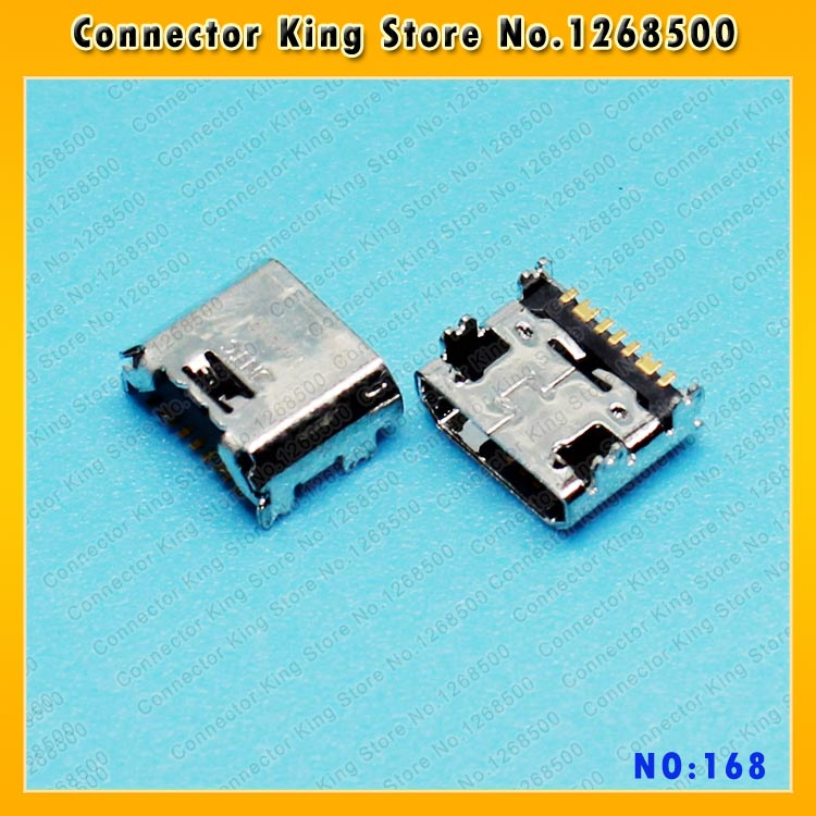 10-100PCS New Dock Port For Samsung Galaxy Tab 3 Lite 7.0 T110 T111 Usb Charger Charging Connector ,MC-168