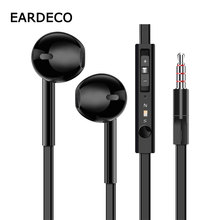EARDECO Flat Wire Sport Phone Earphone Earbuds Mp3 In Ear Wired Earpiece Stereo Earphones Headset with mic Bass for Phone Xiaomi 1 2m 3 5mm in ear wire control noodle stereo headset earphone portable ear phone earpiece with mic for samsung galaxy s6 s7 edge
