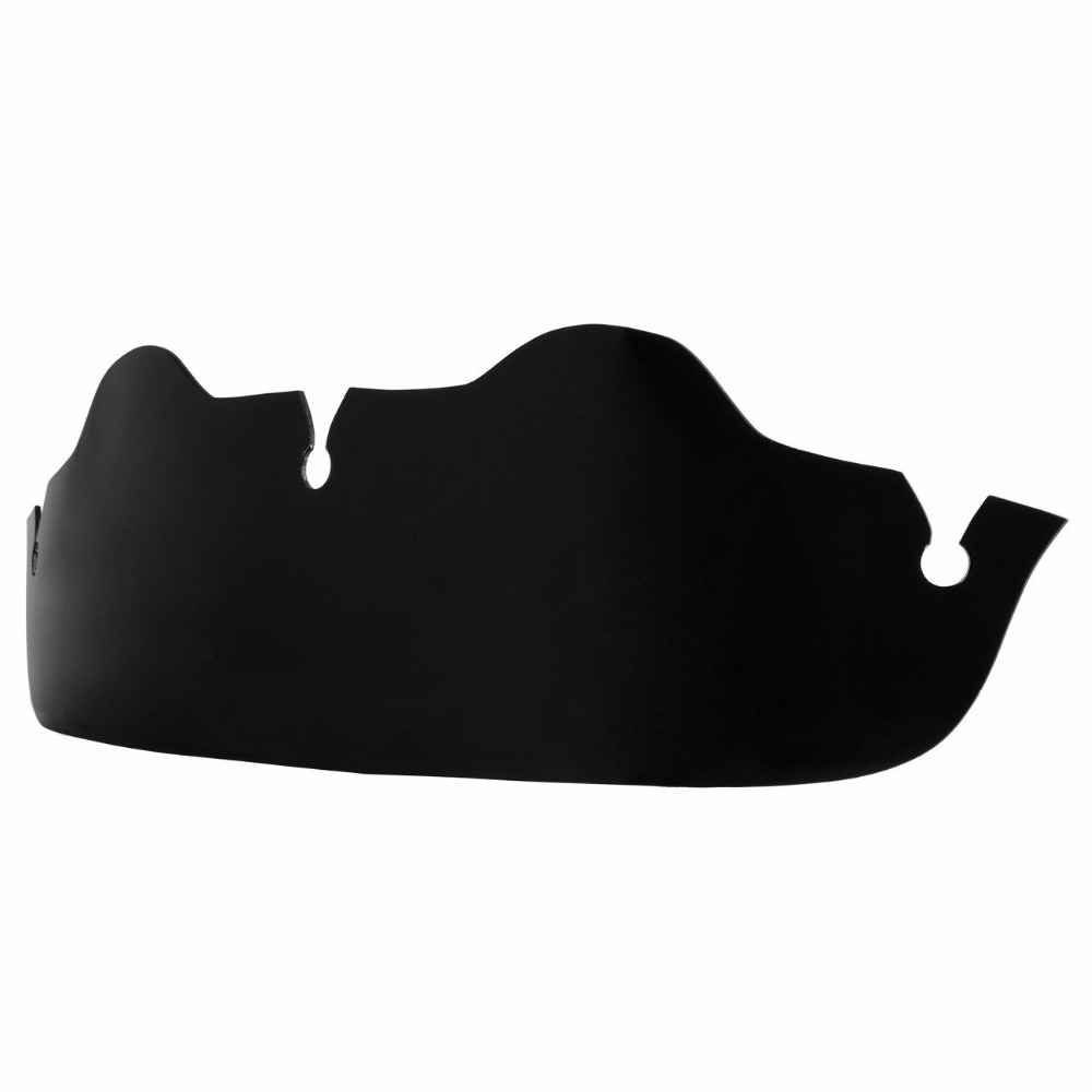 Motorcycle Black 4 Windshield Windscreen For Harley Touring FLHX Electra Glide Street Glide Tri Glide	1996-2013 areyourshop windshield bag saddle 3 pouch pocket fairing for harley touring bike 1996 2015 black motorcycle covers