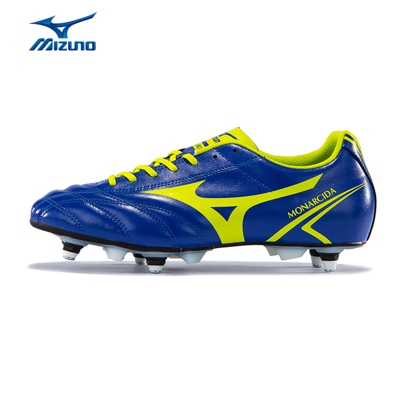 MIZUNO Men's MONARCIDA MIX Soccer Shoes Breathable Slip Resistance Sneakers Sports Shoes P1GC162437 YXZ033 2008 donruss sports legends 114 hope solo women s soccer cards rookie card