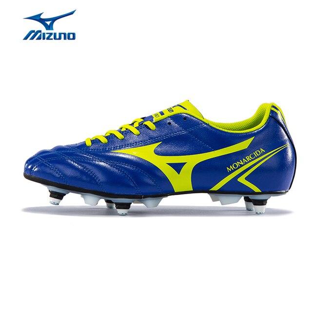 MIZUNO hombres MONARCIDA MEZCLA Zapatos de Fútbol Transpirable Resistencia  Al Deslizamiento Zapatillas Calzado Deportivo P1GC162437 YXZ033 98b8fdf02c1d4