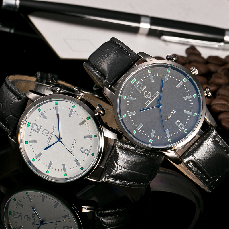 2017 Relojes de Hombre Reloj de pulsera de Lujo Para Hombre Reloj de - Relojes para hombres - foto 4
