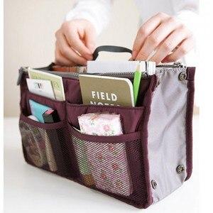 Image 4 - 多機能収納パッケージ女性化粧品袋ビッグサイズの化粧ポーチ良質旅行ハンドバッグトイレタリーバッグオーガナイザー