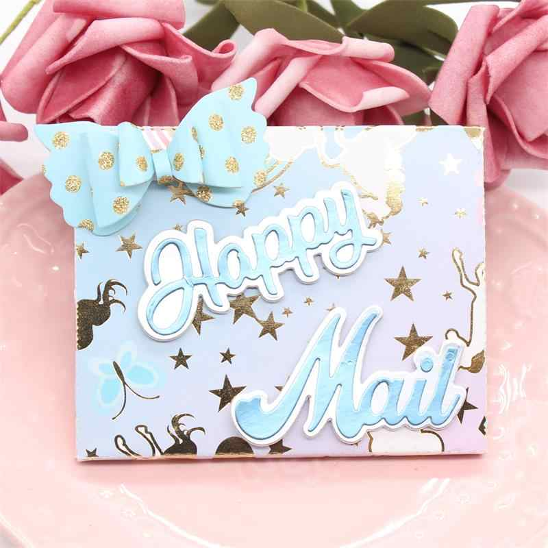 KLJUYP Gift Card Envelope with Bow Close Metal Cutting Dies Scrapbook Paper Craft Decoration dies scrapbooking