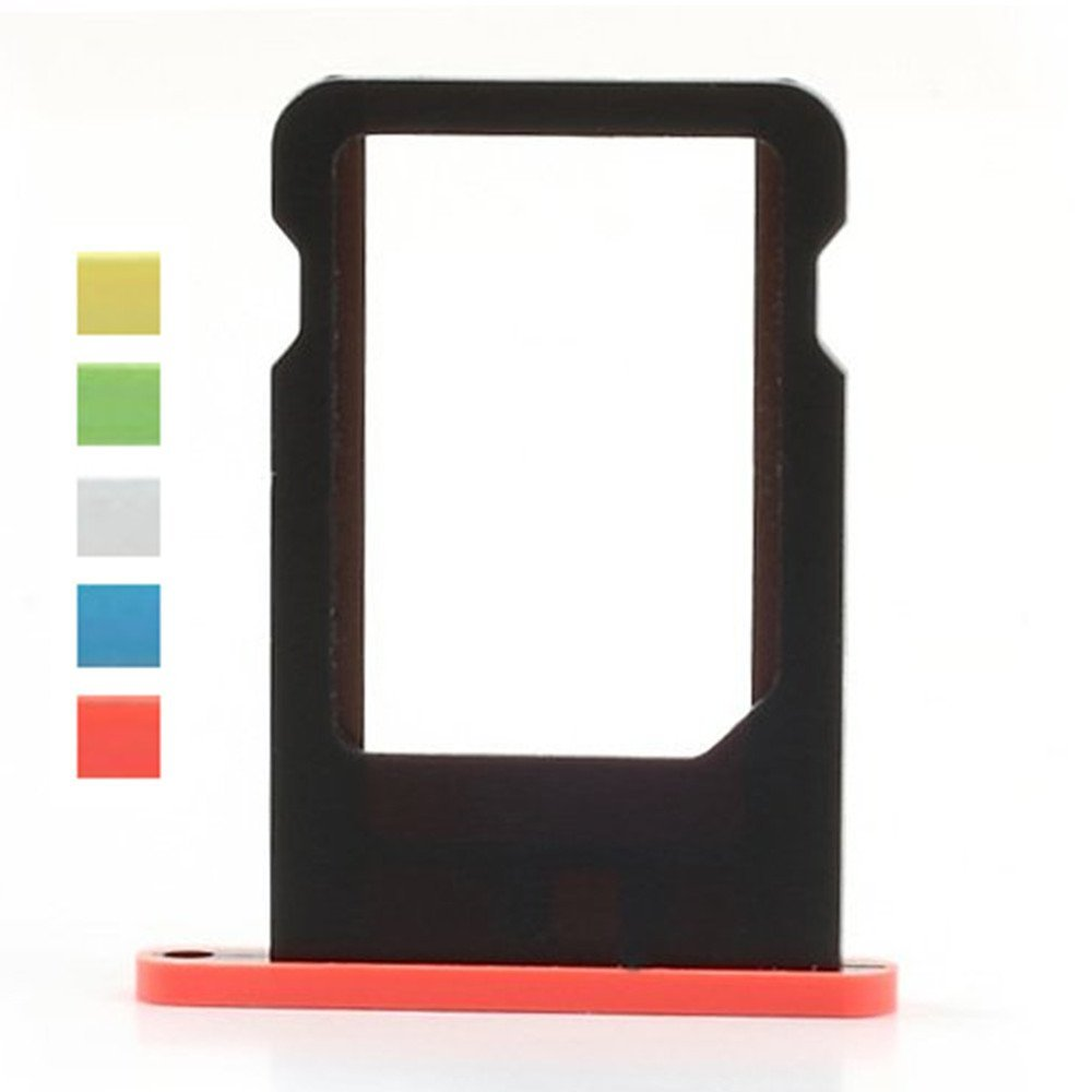 New Replacement Nano SIM Card Slot Tray Holder Fit for Iphone 5c