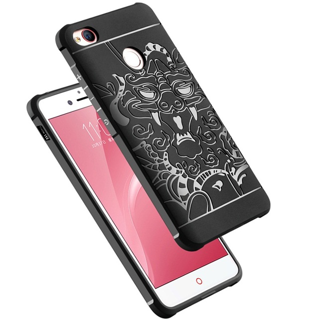 reputable site c6beb 26517 US $7.99 20% OFF|Case For ZTE Nubia Z11 Mini S / Z11 Cover Luxury Blade  dragon Flower Shockproof silicone soft jelly shell phone Case kimTHmall-in  ...