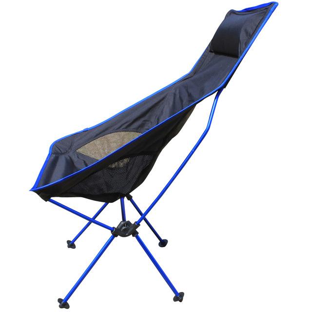 2016 Nova 4 Cores Ao Ar Livre Cadeiras Espreguiçadeiras Ao Ar Livre Cadeiras Dobráveis de Pesca cadeira Espreguiçadeira de Alumínio super conforto