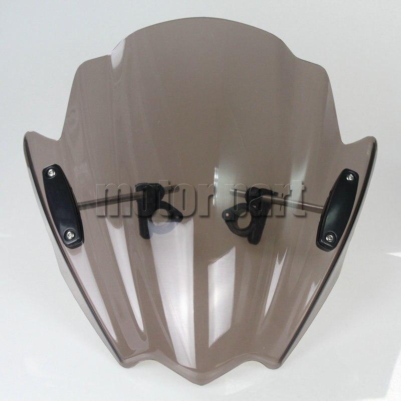 オートバイ の フロント ガラス用2009 2015 スズキ グラディウス 650 sfv650 abs b キング gsr750 GSR750Z ウインド スクリーン偏向器煙10 11 12 13  グループ上の 自動車 &バイク からの フロントガラス & ウィンドディフレクター の中 1