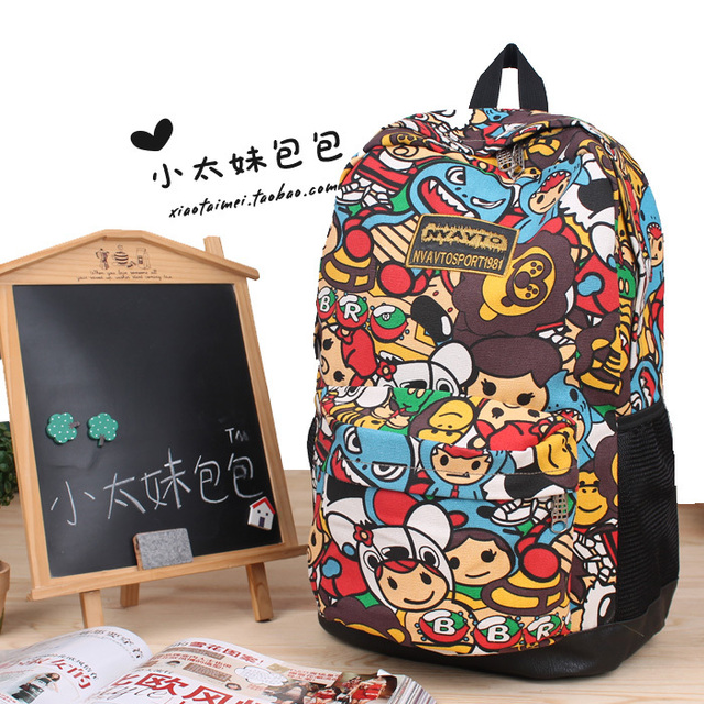 Aliexpress.com : Buy Fashion Cute Harajuku School Knapsacks For ...